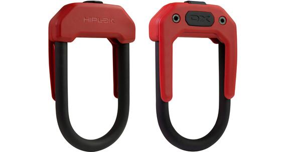 Hiplok DX - Antivol - rouge/noir